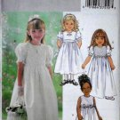 Butterick B4057 Flower Girls, Sizes 6 7 8 Pageant Dress, Wedding Party Dress, Special Occasions