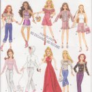 Simplicity 4702 Fashion Dolls Clothes for 11 1/2 inches doll Original Sewing Pattern