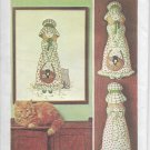 Holly Hobbie Transfer Embroidery Picture and Pillow Doll