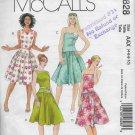 McCalls 4828 Women Dresses Casual Summer Sizes 4-6-8-10 Original Sewing Pattern