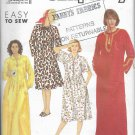 Women Craftans Lounge Robes Dresses Sizes S to XXL Simplicity 7030 Original Sewing Pattern Uncut