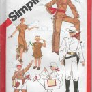 Simplicity 5298 Costumes The Lone Ranger Sizes 6, 8, Girls Boys Tonto Silver and Scout