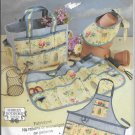 Simplicity 4597 Garden Accessories Apron Tote Bag Visor Hat Original Sewing Pattern FF