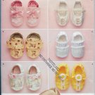 Simplicity 2471 Baby Design Shoes One Size Mix Six (6) Styles to Make