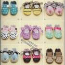 Simplicity 2491 Baby Shoes Design Mix Styles Sizes XS-S-M-L