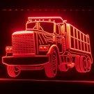 Dump Truck Car Bar Gift LED Sign Night Light Luminous Display Glowing