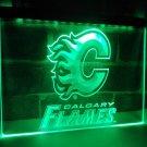 Calgary Flames Team Football Bar Beer LED Neon Light Sign home decor shop crafts