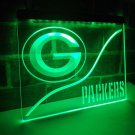Greenbay Packers LED Neon Bar Light Sign NFL