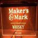 Maker's Mark Whisky LED Neon Sign home decor craft display glowing