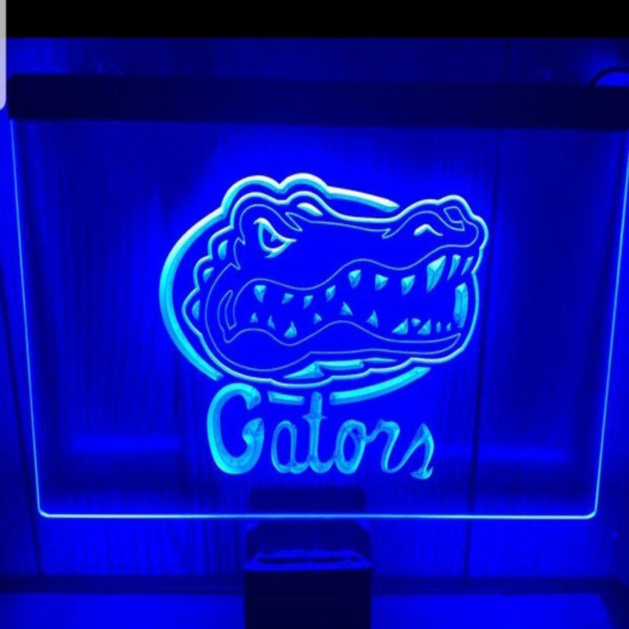 Gator LED Neon Sign home decor craft display glowing
