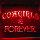 Cowgirls Are Forever Bar Beer Neon Sign home decor crafts
