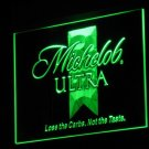Michelob Ultra Real Glass Neon Light Sign Home Beer Bar Pub Recreation Room Game