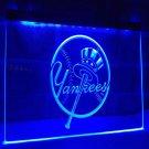 MLB NEW YORK YANKEES LOGO LED Light Sign for Game Room,Office,Bar,Man Cave
