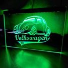 VOLKSWAGEN VW BUG LED Neon Sign hang signs wall home decor garage man cave
