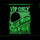 Blue Moon Old VIP Only LED Neon Light Sign