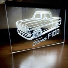 Ford F100 Truck LED Neon Sign Home Decor Garage Man cave