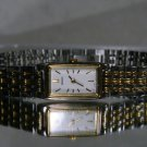 Women's Gold & Silver Seiko Ultra Thin Ultra Light Dress Watch. 2 Year Warranty