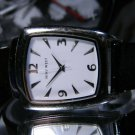 Nine West Hidden Disappearing Crown Ultra Thin Watch New Battery 2 Year Warranty