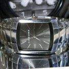 Men's 35 mm X 40 mm Chrome Black Metallic Dial Watch New Battery 2 Year Warranty