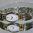 Women's Gold & Silver Seiko Roman Numeral Watch. No Sales to EEA 2 Year Warranty