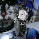 Women's Seiko Silver w/ White Dial Watch 1N01-0GS0 New Battery 2 Year Warranty
