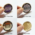 Poker Set Small/Big Blind Blinds Dealer Button Chips Cards Press Guard Protector