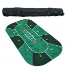 1.2mDeluxe Tablecloth with Flower Pattern Casino Pokerstars Set Board Game Poker