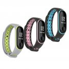 Strap for Xiaomi MiBand 3 Accessories Sport Bracelet Smart Silicone Watch Fitnes