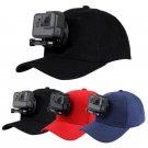 Baseball cap for Go Pro J-Hook Buckle Mount Screw HERO5 HERO4 Session outdoor 18