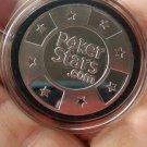Silver Metal Token Coin Plastic Cover PokerStars Cards Guard Protector Chip 2018