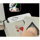 Magic lighter in the style of poker 1pcs Electric shaker Gas Cigarette Toys Gift