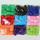 100 Pieces Pcs/Set Poker Casino Plastic Chips Solid Colors Qualify w-out Rating