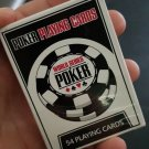 New Simple White Design Durable Plastic PVC Poker Waterproof Poker Playing Cards