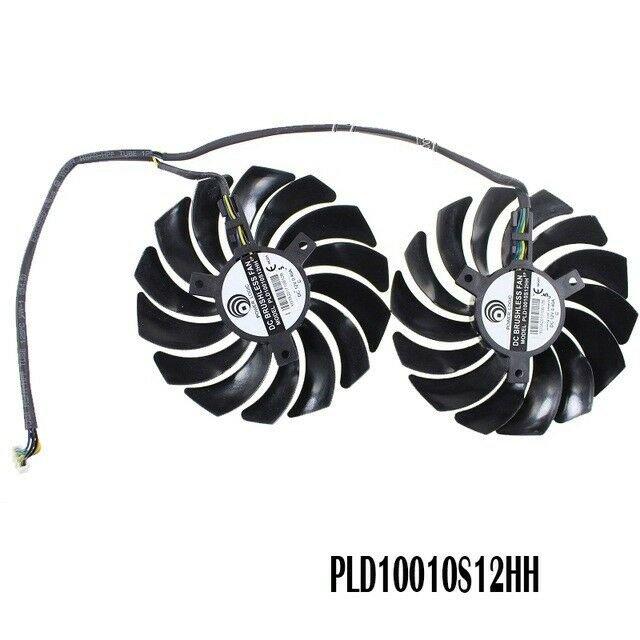 Cooler fans FOR MSI GTX1080Ti 1080 1070 1060 RX470 480 570 580 2pcs/lot 4PIN GPU