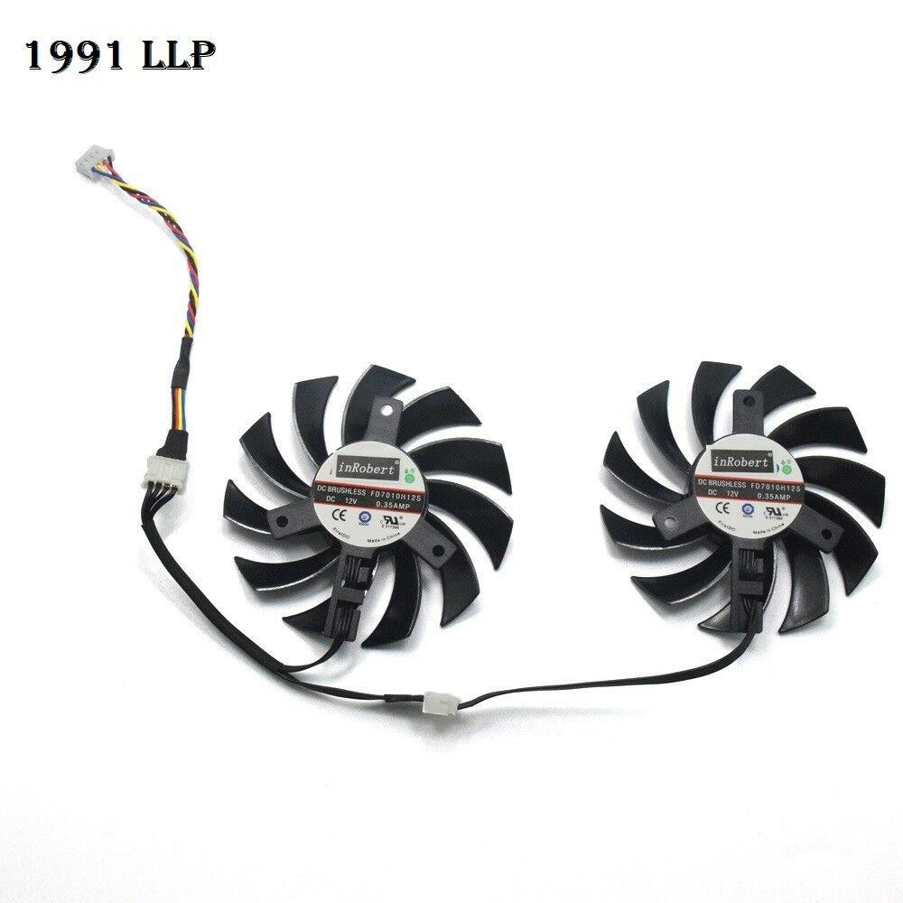 Cooling Fan For ASUS HD6930 HD7850 HD 6950 7870 R9 270 270X GTX 480550770970
