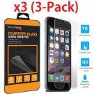 3x o 1x Protector de pantalla de vidrio templado para iPhone 8/7/6 Plus X