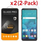 2-Pack For LG Stylo 4 (2018) Tempered Glass Screen Protector