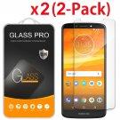 2-Pack For Motorola Moto E5 Plus / E5 Supra Tempered Glass Screen Protector
