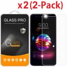 2-Pack Tempered Glass Screen Protector For LG K10 2018/K10+/K10α 2018/K30