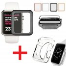 Apple Watch Series 3 / 2 Tempered Glass Screen Protector + Soft TPU Case 38/42mm