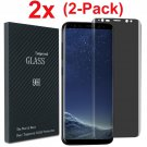 For Samsung Galaxy S8 / S9 Plus Privacy Anti-Spy Tempered Glass Screen Protector