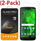 2-Pack Premium Screen Protector Tempered Glass For Motorola Moto G6