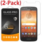 2-Pack Tempered Glass Screen Protector For Motorola Moto E5 Play / E5 Cruise