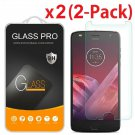 2-Pack Tempered Glass Screen Protector For Motorola Moto Z2 Play / Z2 Force