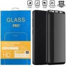 Privacidad Protector de pantalla vidrio templado para Galaxy S8 S9 Plus Note 8