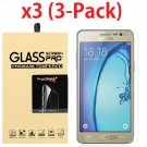 3-Pack For Samsung Galaxy On5 Premium Real Tempered Glass Screen Protector Guard