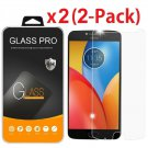 [2-Pack] Tempered Glass Screen Protector For Motorola Moto Z2 Force / Z2 Play
