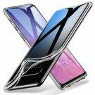 Samsung Galaxy S10, S10 Plus, S10e Clear Silicone Protective Slim Cover Case