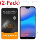 [2-Pack] Premium Tempered Glass Screen Protector for Huawei P20 Lite