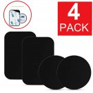 4-Pack Metal Plates Sticker Replace For Magnetic Car Mount Magnet Phone Holder